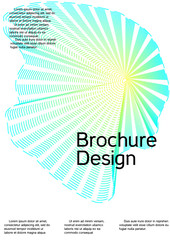 Cover design with abstract lines.