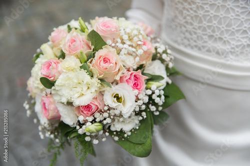 Brautstrauss Bei Hochzeit Beim Standesamt Stockfotos Und Lizenzfreie