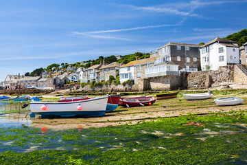 Mousehole Harbour Cornwall England