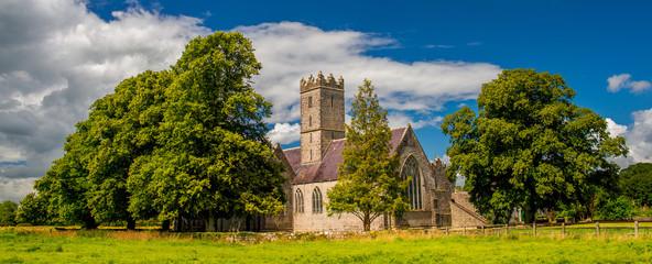 Augustinian friary, Saint Nicholas's Church of Ireland Church, Adare, County Limerick