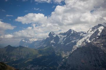 The Eiger in summertime, Switzerland.
