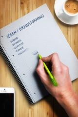 Ideen / Brainstorming