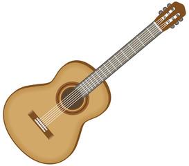 クラシックギターのイメージイラスト