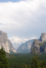 Foto op Textielframe Alpen Yosemite Nationalpark in Summer