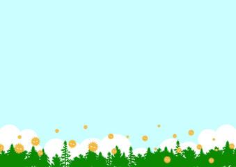 花粉 森林