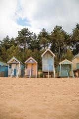 Beach hut in Wells