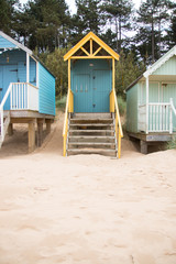 Beach hut in Wells