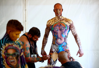 """World Bodypainting Festival 2018"" in Klagenfurt"