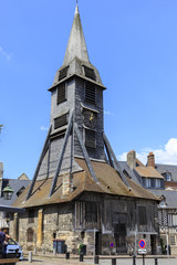 Church in  Honfleur, Normandy, France