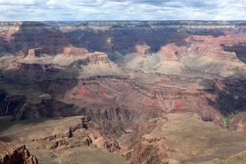 Grand canyon vu du ciel
