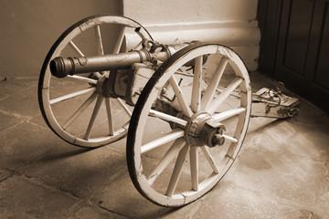 Retro cannon - profile view