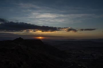 Äthiopien - Sonnenuntergang in Lalibela
