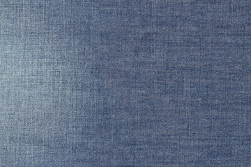 blue light chambray fabric texture background