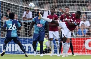 Pre Season Friendly - Wycombe Wanderers v West Ham United
