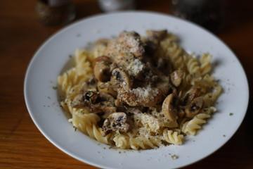 chicken cream pasta