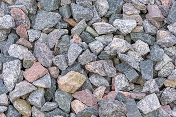 granite crushed stone background