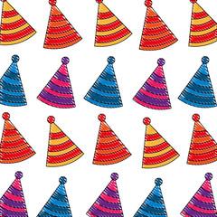 party hat decoration celebration pattern