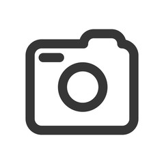 Social media icon, photo camera instagram icons sign - stock vector