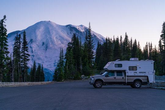 Camper Truck Mount Rainier