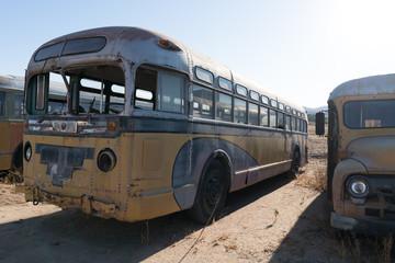 Foto op Aluminium Londen rode bus Bus