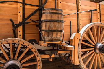 Barrel on Wagon