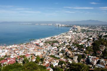 Panorama of northern Puerto Vallarta