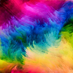 Colorful Paint Artificial