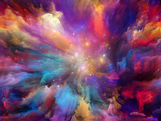 Colorful Spacey Background
