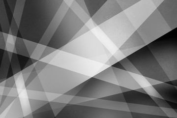 abstract black and white background with textured lines and stripes in a modern art style design pattern