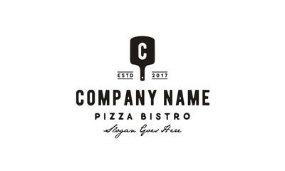 Vintage Pizza Logo design inspiration