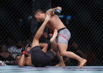 MMA: UFC Fight Night-Boise-Jury vs Mendes