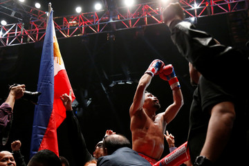 Boxing - WBA Welterweight Title Fight - Manny Pacquiao v Lucas Matthysse