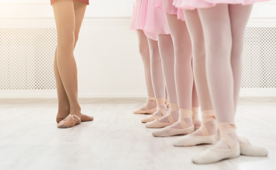 Estores personalizados con tu foto Ballet background, young ballerinas training