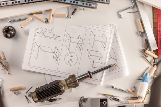 furniture assembly parts manual