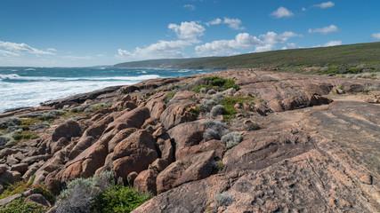 Wall Mural - Beautiful coastal landscape of Cape Leeuwin, Leeuwin-Naturaliste National Park, Western Australia