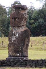 Moai- Ahu Akivi-Osterinsel
