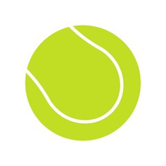 Tennis ball icon vector icon. Simple element illustration. Tennis ball symbol design. Can be used for web and mobile.