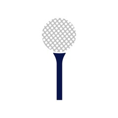 Golf icon vector icon. Simple element illustration. Golf symbol design. Can be used for web and mobile.