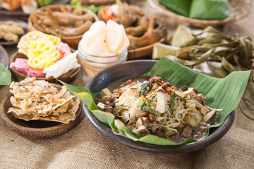 traditional indonesian culinary food