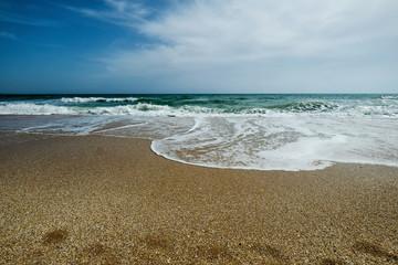 Beach in Albufeira Portugal