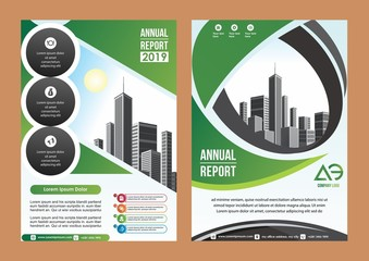 cover, brochure, flyer template for business