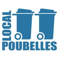 Logo local poubelles.