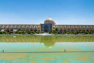 Naqsh-e Jahan Square (Imam Square) -  one of UNESCO World Heritage Sites in Isfahan (Esfahan), Iran