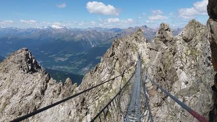 Sentiero dei fiori tonale Dolomites Italy