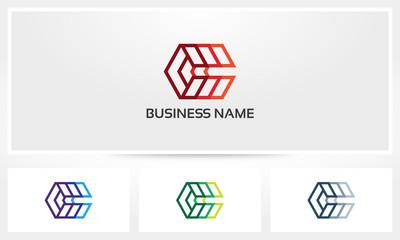 Letter C Parallel Logo