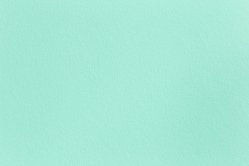 Blank background for template, mint green paper texture, horizontal copy space
