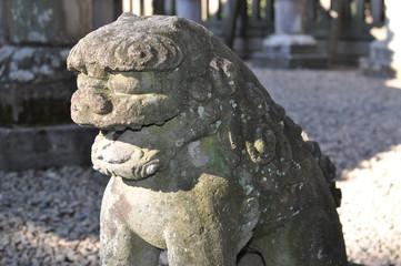 仙波東照宮の狛犬