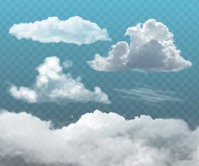 transparent realistic clouds