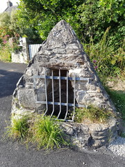 Foto op Aluminium Fontaine fontaine bretonne