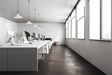 modern open space office